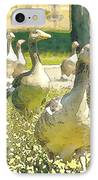 Duck Duck Goose IPhone Case by Artist and Photographer Laura Wrede