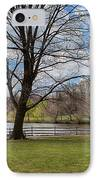 Duck Pond Haverford College IPhone Case by Kay Pickens