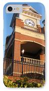 Duluth Clock Tower IPhone Case by Cheryl Hardt Art