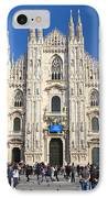 Duomo In Milano. Italy IPhone Case by Antonio Scarpi