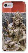 Durga In Kumartuli IPhone Case by Shaun Higson