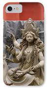 Durga In Kumartuli IPhone Case