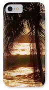 Dusk IPhone Case by Athala Carole Bruckner