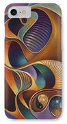 Dynamic Series #23 IPhone Case by Ricardo Chavez-Mendez