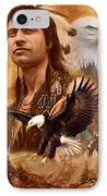 Eagle Montage IPhone Case