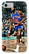 Earl Monroe IPhone Case by Florian Rodarte