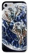 Earth Beauty Original Acrylic Painting IPhone Case