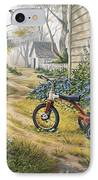 Easy Rider IPhone Case by Michael Humphries