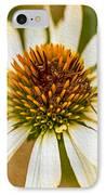 Echinacea Fading Beauty IPhone Case by Omaste Witkowski