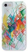 Education 1 IPhone Case by David Baruch Wolk