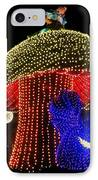 Electrical Wonderland IPhone Case by Benjamin Yeager