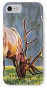 Elk IPhone Case by Aaron Spong