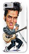 Elvis Presley IPhone Case by Art