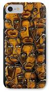 Empyreal Souls No. 5 IPhone Case by Steve Bogdanoff