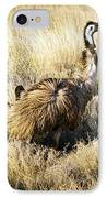Emu Chicks IPhone Case by Tim Hester