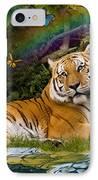 Enchaned Tigress IPhone Case