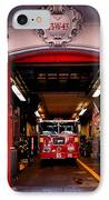 Engine Company 65 Firehouse Midtown Manhattan IPhone Case by Amy Cicconi
