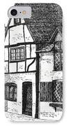 English Village IPhone Case by Shirley Miller