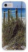 Enter The Beach IPhone Case by Susan Leggett