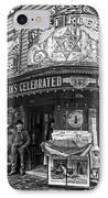 Ernst Roebers Saloon - Manhattan - 1908 IPhone Case by Daniel Hagerman