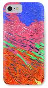 Erupting Lava Meets The Sea IPhone Case by Joseph Baril