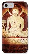 Etched Buddha  IPhone Case