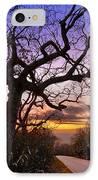 Evening Tree IPhone Case by Debra and Dave Vanderlaan