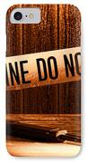 Evidence IPhone Case by Olivier Le Queinec