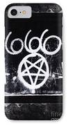 Evil IPhone Case by Margie Hurwich