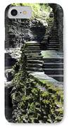 Exiting Watkins Glen Gorge IPhone Case by Frozen in Time Fine Art Photography
