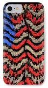 Exploding With Patriotism IPhone Case by John Farnan