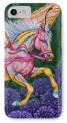 Faery Horse Hope IPhone Case by Beth Clark-McDonal