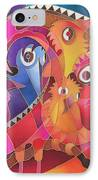Fair Weather Friends IPhone Case by Maria Rova