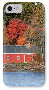 Fall At The Mill IPhone Case by Jayne Carney