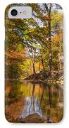 Fall At Valley Creek  IPhone Case