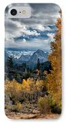 Fall In The Eastern Sierra IPhone Case by Cat Connor