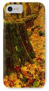 Fall Leaves Mosaic IPhone Case by Dan Mihai