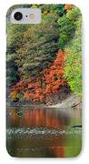 Fall Painting IPhone Case by Frozen in Time Fine Art Photography