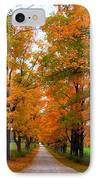 Falling For Country Farm IPhone Case