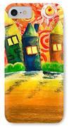 Fantasy Art - The Village Festival IPhone Case
