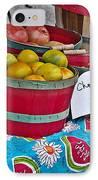 Farm Fresh Produce At The Farmers Market IPhone Case