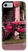 Farmall 200 IPhone Case by Robert Geary