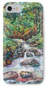 Fast Water Wildwood Park IPhone Case by Kendall Kessler