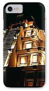 Faux Myan Pyramid IPhone Case by John Malone