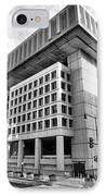 Fbi Building Rear View IPhone Case