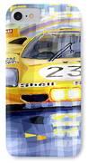 Ferrari 512 S Spa 1970 Derek Bell  IPhone Case by Yuriy  Shevchuk