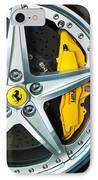 Ferrari Wheel 3 IPhone Case