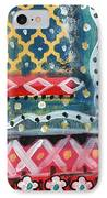 Fiesta 4- Colorful Pattern Painting IPhone Case
