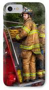 Firefighting - Only You Can Prevent Fires IPhone Case by Mike Savad