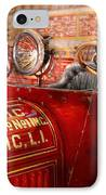 Fireman - Mastic Chemical Co IPhone Case by Mike Savad